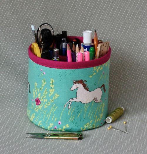 running horse...textile box