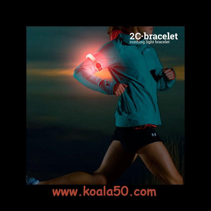 Brazalete Deportivo LED de Seguridad 2C - 2,42 €   ¡Si te gusta practicar deporte y salir a correr por las noches, necesitas el brazalete deportivo LED de seguridad 2C! Dispone de 2 luces LED y permite seleccionar 2 posiciones de luz (fija o...  http://www.koala50.com/equipamiento-deportivo/brazalete-deportivo-led-de-seguridad-2c