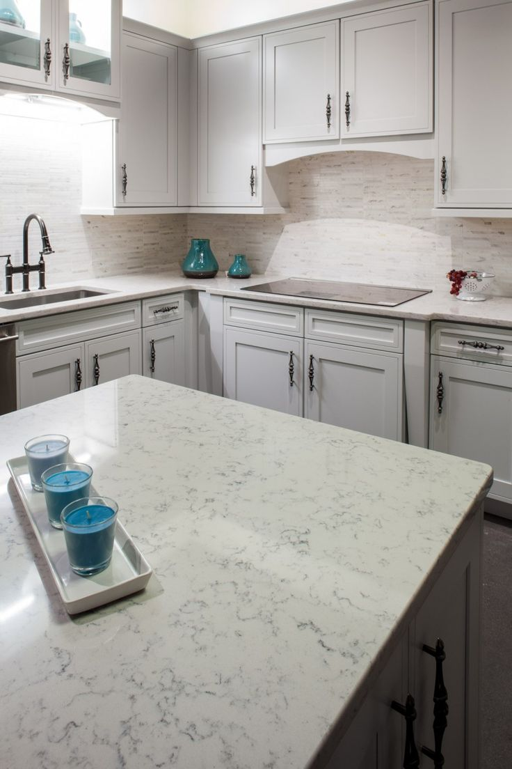 Lyra Silestone Kitchen With A Cook Top