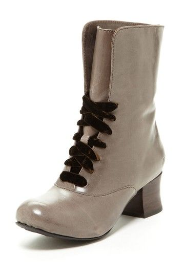 Born Glenda Lace-Up Ankle Boot by BORN on @HauteLook