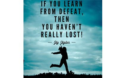 Learn from Defeat