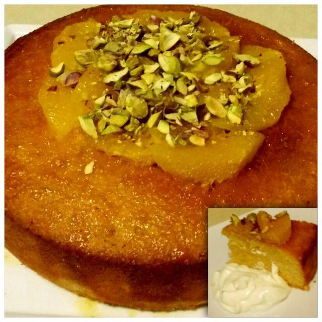 Orange, Semolina and Almond Cake