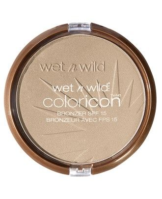 Color Icon Bronzer SPF 15 from wet n wild in Reserve Your Cabana #crueltyfree