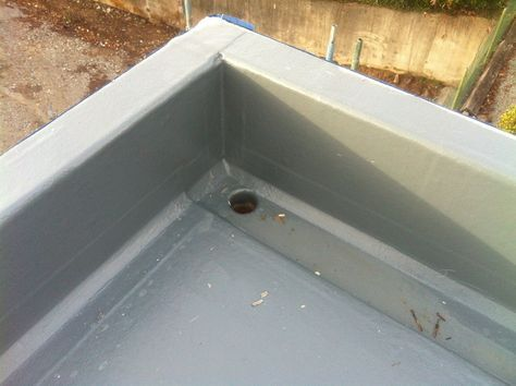 Flat Roof cover in fibreglass by Bautech Construction | New House at Knocknagoug, Quin, Co. Clare