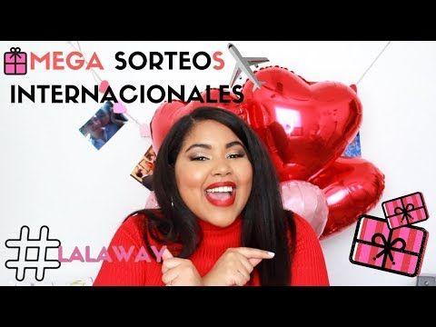 MEGA SORTEOS INTERNACIONALES FEBRERO 2018 | GIVEAWAYS | LalaDickson - YouTube