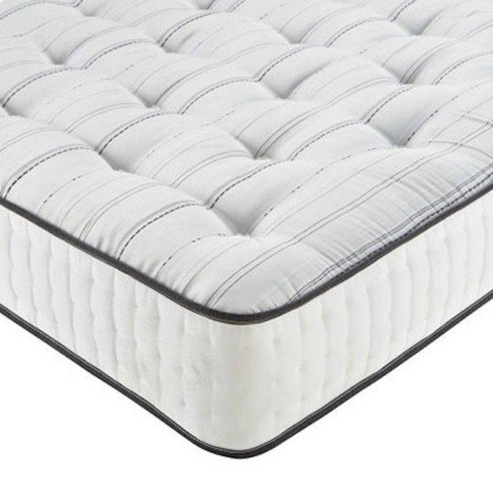 1500 Pocket Spring Memory Foam Mattress Luxury Fabric Beds Co Uk