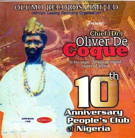 Oliver De Coque - Peoples Club 10th - CD