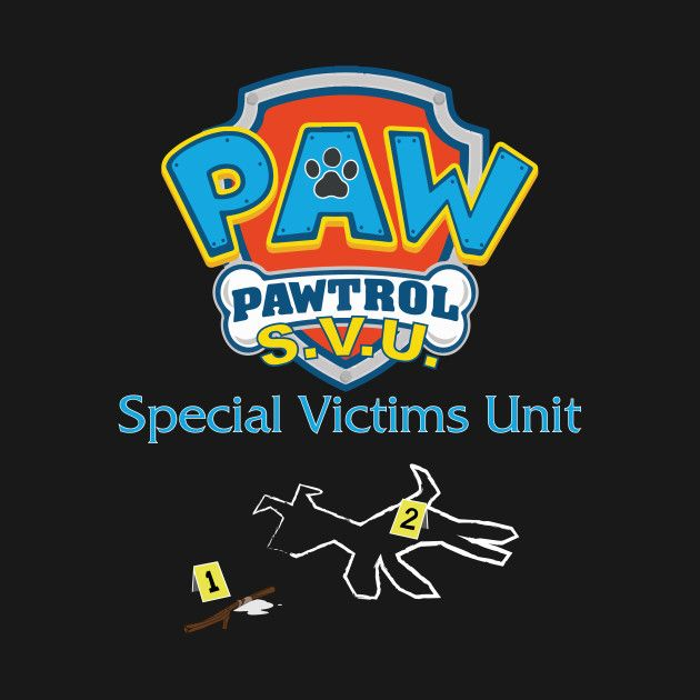 Time to call in the Special Victims Unit. Check out my new 'PP+SVU' design on @TeePublic! #tees #tshirts