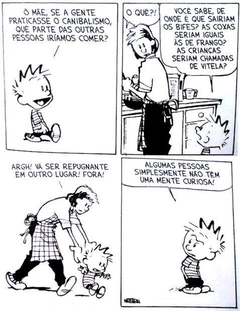 #Calvin assustador