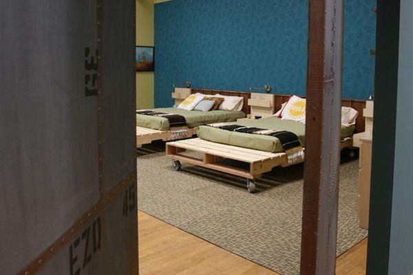 20 Idées de lits fabriqués avec des palettes