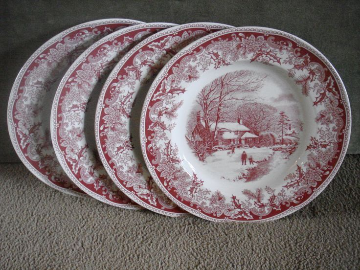 Johnson Bros Christmas China