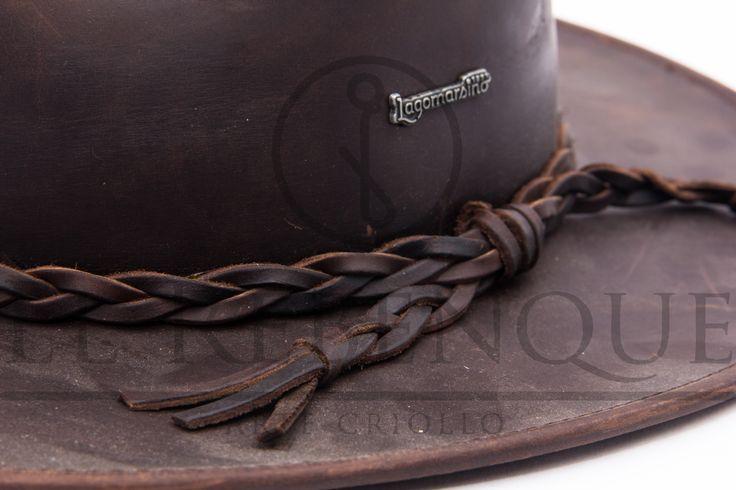 Sombrero australiano de Cuero Engrasado