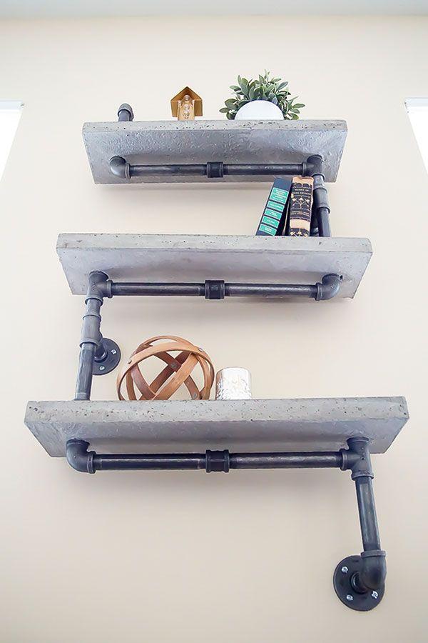 Best 25+ Plumbing pipe shelves ideas on Pinterest | Diy ...
