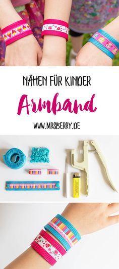 DIY für Kinder: Armband selber nähen – MrsBerry DIY & Reiseblog