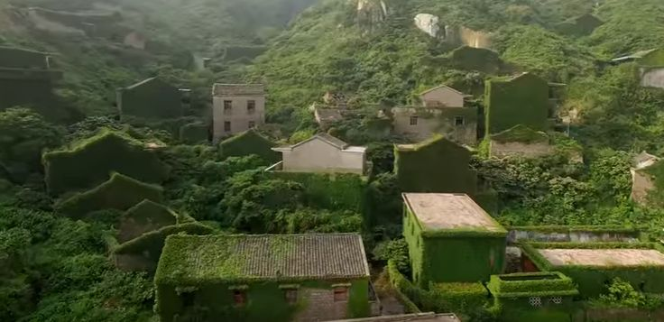 This fishing village in the Shengsi Islands of China has been abandoned for years, but it is anything but decrepit. On the contrary, Houtouwan may well be the most verdant and stunningly green village the world over, as nearly every building is overgrown with ivy and other lush vegetation.