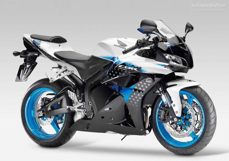 #HONDA CBR 600 RR - I love the paint design on this bike!