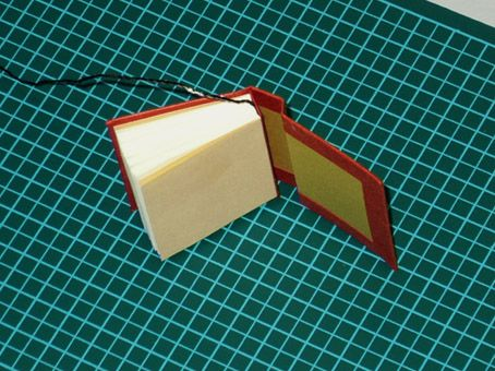 How to make a simple miniature book notes