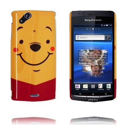 Happy Cartoon (Winnie Pooh) Sony Ericsson Xperia Arc Cover