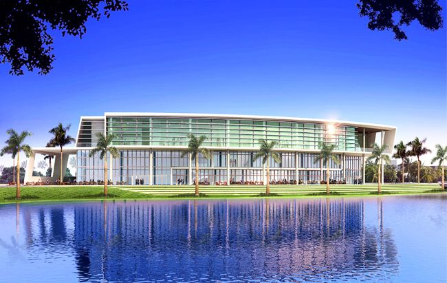University of Miami New Student Center by Arquitectonica