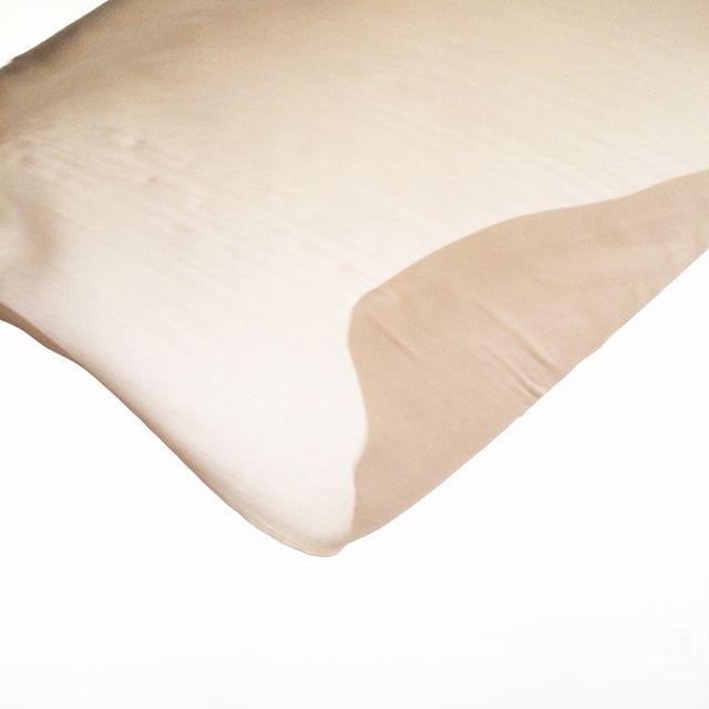 Beige Chiffon Silk detail