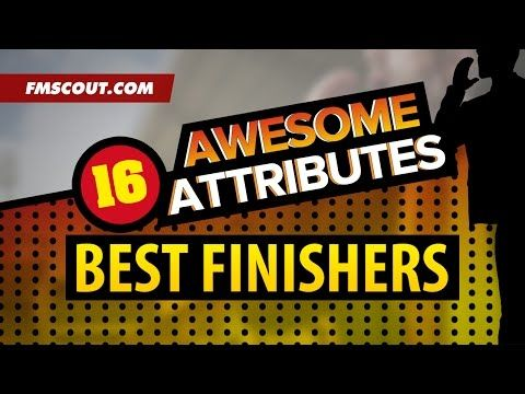 Awesome Attributes: Best Finishers on Football Manager 2016 - YouTube