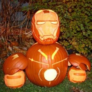 Pumpkin Iron Man