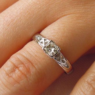 1000 ideas about love knot ring on pinterest knot rings. Black Bedroom Furniture Sets. Home Design Ideas