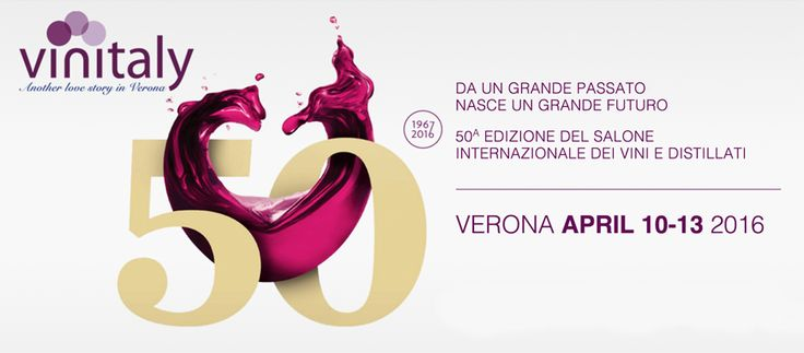Domenica 10 aprile la 50^ edizione di #Vinitaly 2016 -> http://goo.gl/wsqMjH #Molise #mangiareinmolise #madeinitaly