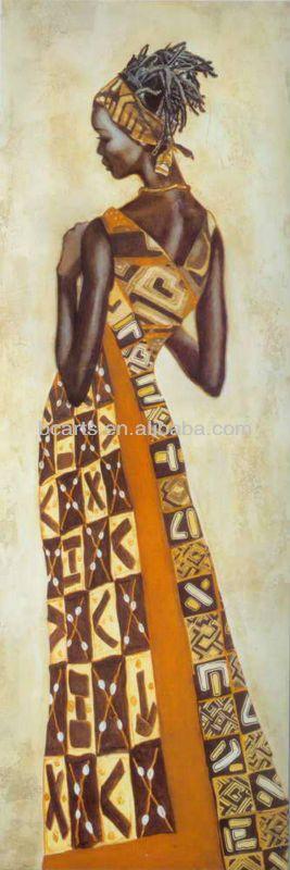 nuevo diseño abstracto de mujeres africanas de la pintura-Pintura y Caligrafía-Identificación del producto:754290521-spanish.alibaba.com