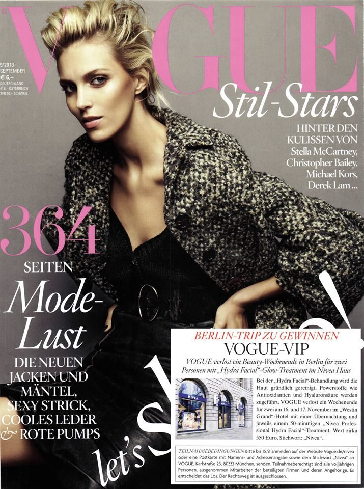 #hydrafacial mentioned in Vogue (Germany) August-September 2013 edition #skincare #press #skinhealth via EcoMedic GmbH