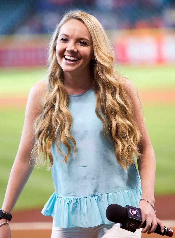 Danielle Bradbery - Baltimore Orioles v Houston Astros