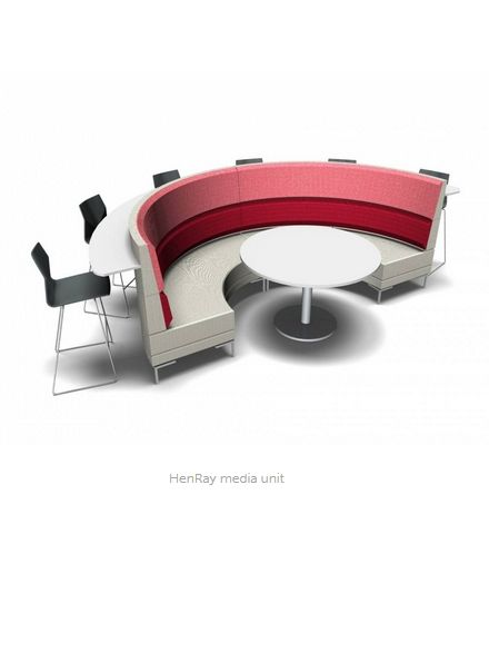 HenRay Media - Product Page: http://www.genesys-uk.com/HenRay-Media.Html  Genesys Office Furniture Homepage: http://www.genesys-uk.com  HenRay Media is a new extension to the award winning HenRay range. It has been configured specifically for meetings and presentations.
