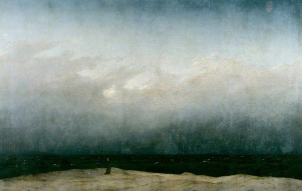"Каспар Давид Фридрих ""Монах у моря"""