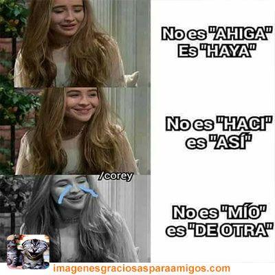 Por corregir ...   Mas imágenes aquí  imagenesgraciosasparaamigos.com  #imagenesgraciosasparaamigos #imagenesgraciosas #memes #bonita