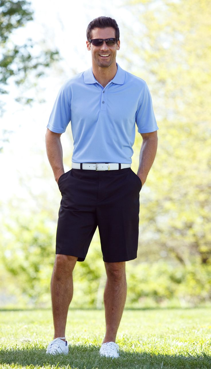 Tee him up for a great summer in the best golf gear. (Polo $24.99 and Shorts $29.99) #Gordmans #GreatGuyGiftGuideContest #FathersDay