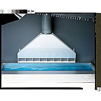 Tapered Rear Exhaust Fume Hood