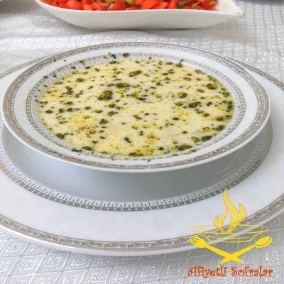 Yoğurtlu Kesme Çorba Tarifi - Afiyetli Sofralar - Yemek Tarifleri