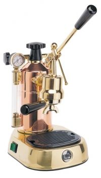 La Pavoni Professional Espresso Machine in Copper & Brass