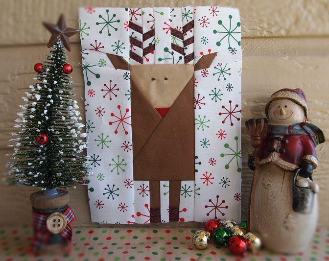 12 Best Santa Claus Quilt Block Images On Pinterest