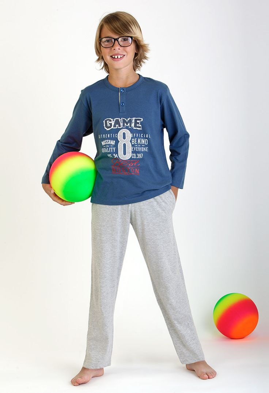 pijama niño pantalón largo #homewear #kid