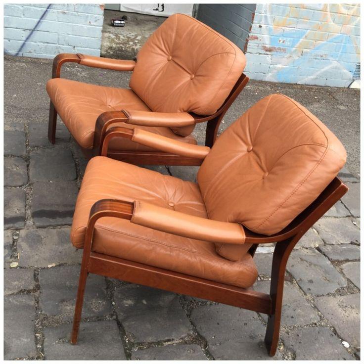 Rare Tessa T10 armchairs