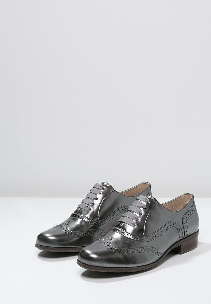 Schoenen Clarks HAMBLE OAK - Veterschoenen - dark pewter metallic  zilverkleurig: 99,95 €