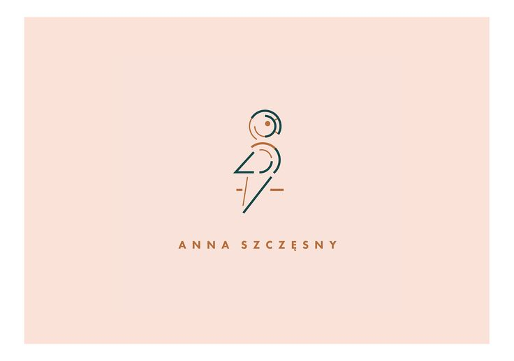 logo designed by Magdalena Lapinska for set designer Anna Szczesny