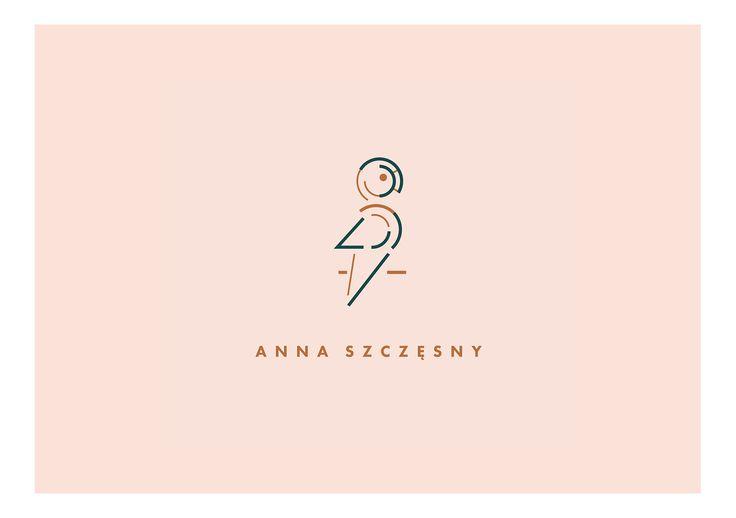 logo designed by Magdalena Lapinska for set designer Anna Szczesny