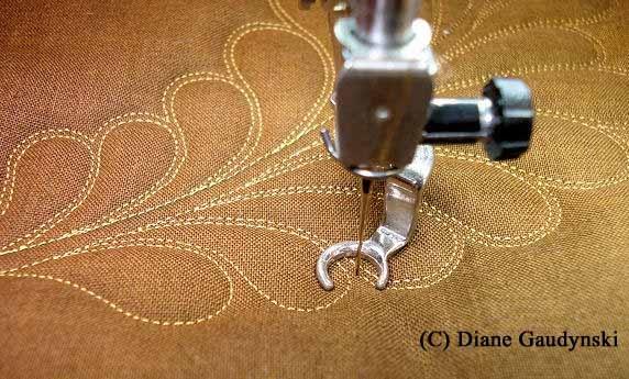 step by step feather tutorial with Diane Gaudynski