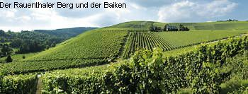 The Rauenthaler Berg and Baiken