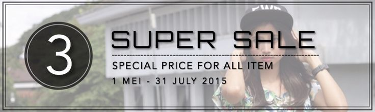 Celebrating our 3 years on 1st june 2015. We give you special price for 3 months until the end of july. SPECIAL PRICE FOR ALL ITEM! #3SUPERSALE  WWW.JEUNESCLOTHING.COM