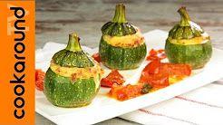 (58) zucchine tonde ripiene - YouTube