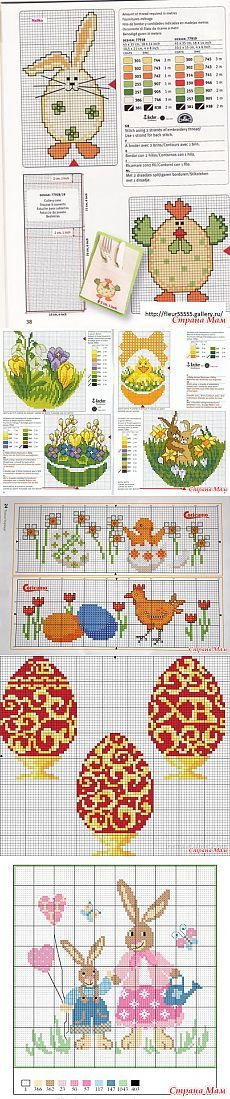 Easter Embroidery - Handwerken Club - Country Mom