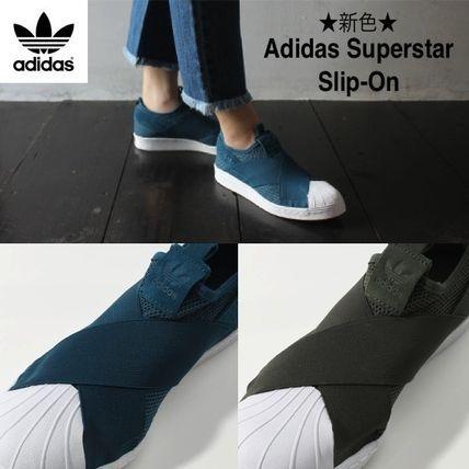 完売★人気スリッポン★新色【Adidas SuperStar★Slip On】 2色
